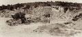 l'entrée de la grotte de Thouzon en 1902