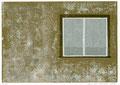 Fenster, 15 x 21 cm, Linolschnitt, Auflage 10