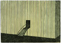 Industriegebäude, 15 x 21 cm, Linolschnitt, Auflage 10