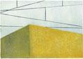 Oberleitungen, 15 x 21 cm, Linolschnitt, Auflage 10