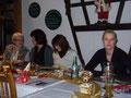 Tja, v. links: Ingeborg, Karin, Ramona, Diana