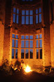 dunboy castle bei nacht