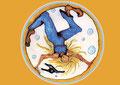 FrauenZauber-Grusskarte-die Wilde