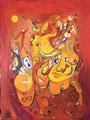 Lovers Dream, 60 x 80 cm, Acryl
