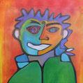 Togetherness, 70 x 70 cm, Acryl