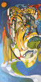 Dream Scape, 60 x 115 cm, Acryl