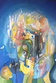 Brain Storming, 70 x 100 cm, Acryl