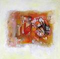 Summer Wind, 80 x 80 cm, Acryl