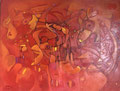 Summer Love, 80 x 60 cm, Acryl   •   CHF 2 900.--