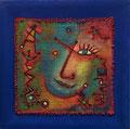 Untitled, 30 x 30 cm, Acryl auf Jute   •   CHF 1 000.--