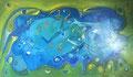 Turn back Time, 120 x 70 cm, Acryl