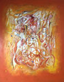 Child in the Circus, 80 x 100 cm, Acryl   •   CHF 3 300.--