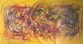 Summer Wind, 150 x 80 cm, Acryl   •   CHF 3 500.--