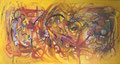 Summer Wind, 150 x 80 cm, Acryl