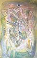 Party Life, 80 x 120 cm, Acryl