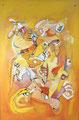 Life in the Sun, 60 x 90 cm, Acryl