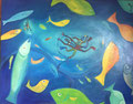 Deep Dive, 100 x 80 cm, Acryl   •   CHF 3 400.--