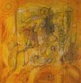 Wunder of Nature, 80 x 80 cm,  Acryl