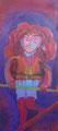 The Tighttrope Walker, 50x110 cm, Acryl