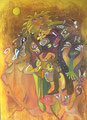 Sunny Girl, 80 x 110 cm, Acryl