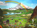 Pet Paradise - olieverf op canvas - 120x90cm - mei 2017 - niet te koop