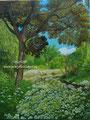 Park - acrylverf op canvas - afm.onbekend - sept.2016 - niet te koop