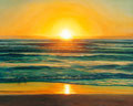 "The Warmth in the Dawn, Size: 30"" x 24"" (76cm x 61cm"