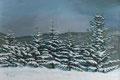 """Snow in Hokkaido, Size: 30"""" x 20"""" (76cm x 51cm)"""