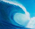 """Blue Wave, Size: 24"""" x 20"""" (61cm x 51cm)"""