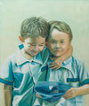 "Brothers Size: 20"" x 28""  (51cm x 76cm)"