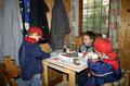 Für die Kleinsten wurde eine Bastel- und Malecke eingerichtet