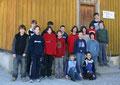 Die 16 Jungs des Jugendkurses 2006