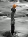 Nr. 101 - Steinbalance sw mit Ei