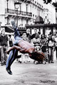 Capoeira - Place Saint-Michel - Paris