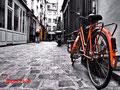 Lonely bicycle - Passage Molière - Paris