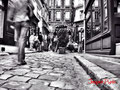 Walking on the old pavement - Passage St-André Rohan - Paris