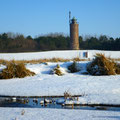 Böhler Leuchtturm im Winter