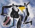 Frauen, Acryl auf Leinen, 1994