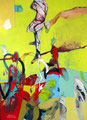 Standing on the Edge, Acryl auf Leinen 2003