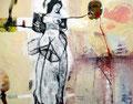 Virgin Strip, Acryl auf Leinen, 2004