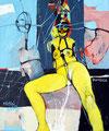 Kammerspiel, Acryl auf Leinen, 2003