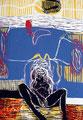 Lolita 2003 - Farbholzschnitt, Auflage: 15 Expl., Eigenedition