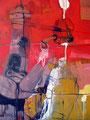 Suck, Acryl auf Leinen, 2003