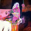 Pinky Babe, Acryl auf Leinen, 2003