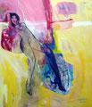 Blue Heel, Acryl auf Leinen, 2004