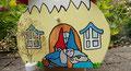 Houten Nestkastje Kabouterhuisje, Details, Vogelhuisje bouwen, deur