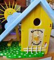 houten nestkastje beschilderd kinderopvang cadeau zonnetje vogelhuisje_3