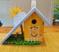 houten nestkastje beschilderd kinderopvang cadeau zonnetje vogelhuisje_5