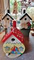 Houten Nestkastje Kabouterhuisje, Details, Vogelhuisje bouwen, voorkant, eindresultaat_3