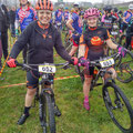 Jodie and Nicole gridded front row